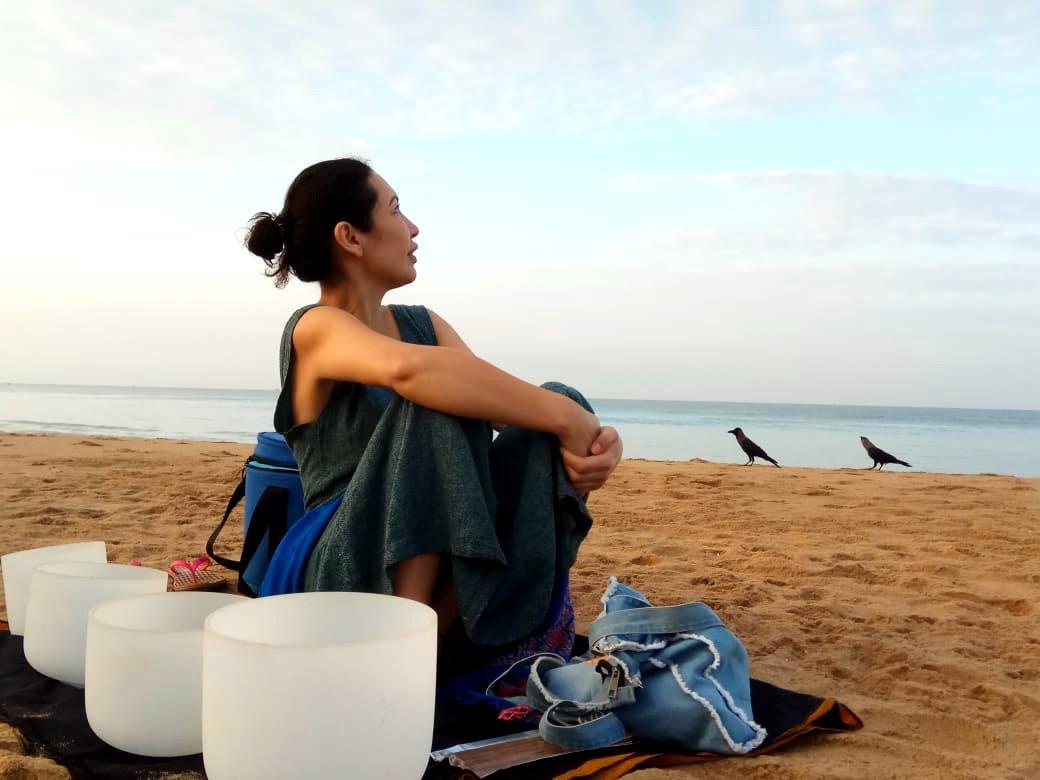 Медитация у океана