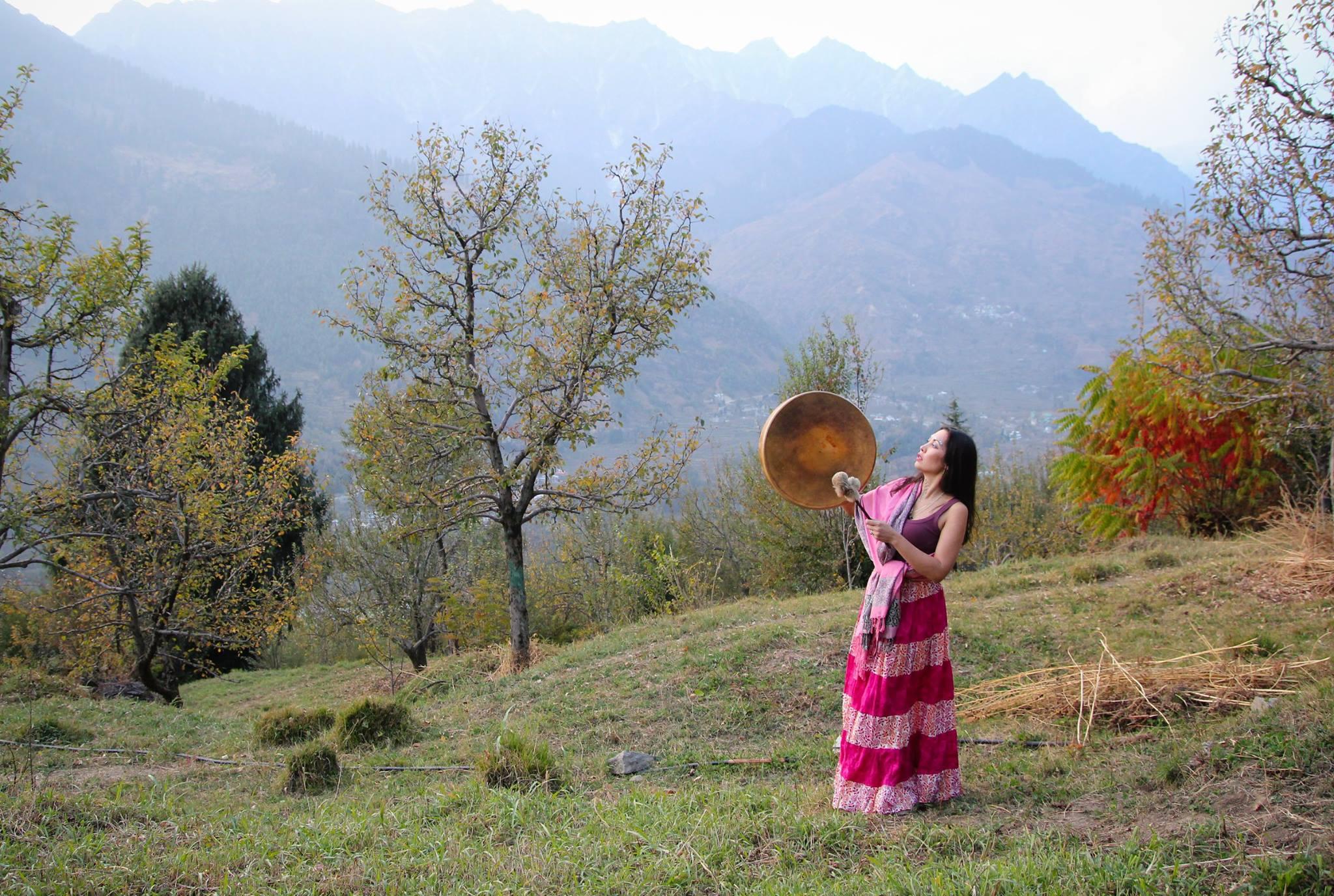Шаман в Гималаях
